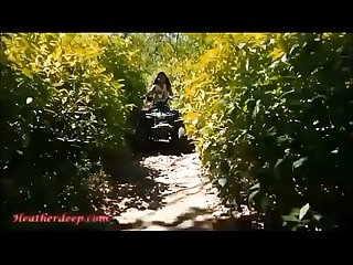 Hd thai teen heather goes atving in Paradise and gets huge Throatpie in quad new