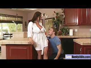 Hot Sex Action With Big Round Boobs Mature Lady (kendra lust) vid-19