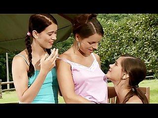 Skinny lesbian babes