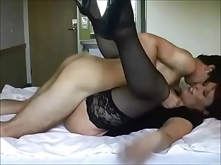 Cheating wife with younger boy