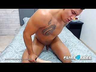 Elliott Velez - Flirt4Free - Sexy AF Latino Stud Puts His Sexy Ass and Cock on Display