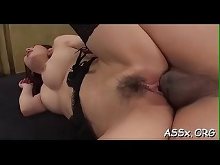 Thrilling oriental 3some sex