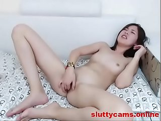 Petite Asian Babe likes to Finger on Cam more at http colon sol sol sluttycams period online
