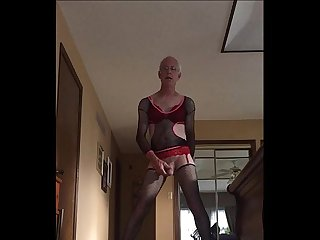 Sissyboy Doug Swallows Cum Load