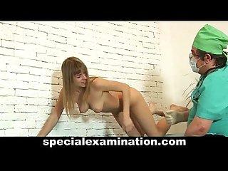 Horny gynecologist