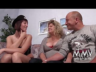 Mmv films young and old mature threesome