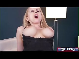 Hot load on blonde Milf's big tits(Angel Wicky) 04 mov-16