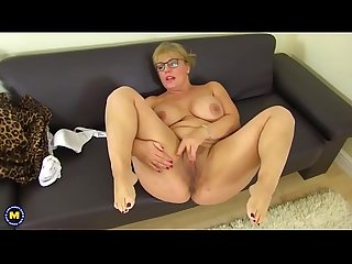 Hot curvy housewife danielle fingering herself