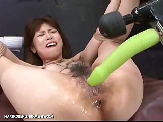 Japanese bondage sex extreme bdsm punishment of asari