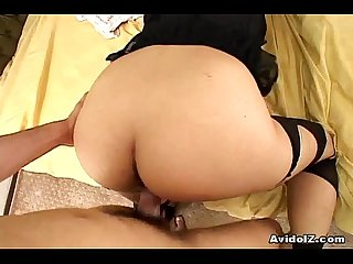 Hot ass monami sakura fucked from behind
