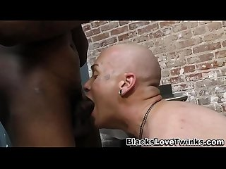 Sloppy gay amateur riding