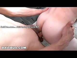 BAIT BUS - Tony Douglas Dips His Heterosexual Cock In Gay Ass