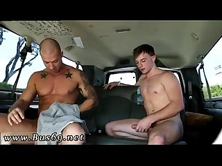 Straight naked polish men gay excited to be on the baitbus