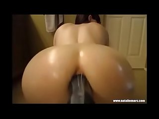 Big ass and DIldo natalie