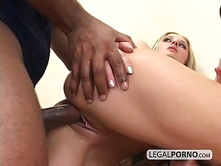 Black cock fucking two hotties in the ass and pussy sl 17 01