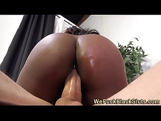 Jizz mouthed ebony feet