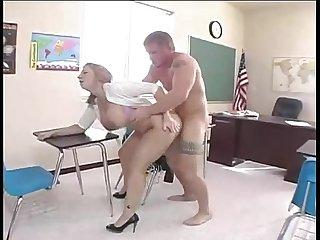 Jack venice fucks teacher in a classroom