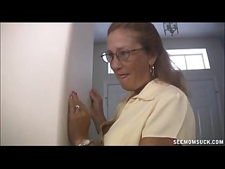granny Sucks off Monster Cock