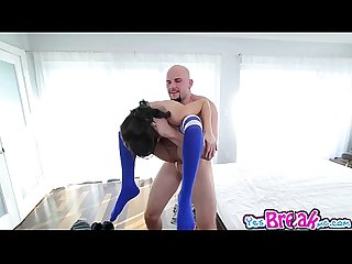 Kira adams bends over for a hard doggystyle
