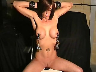 Extreme Breast BDSM of Daniella