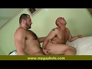 Hot gay Latino men suck and fuck each others 14