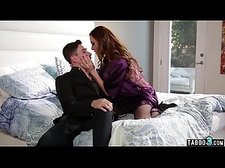 Busty MILF housewife Ariella Ferrera moaning on her brother in laws big cock