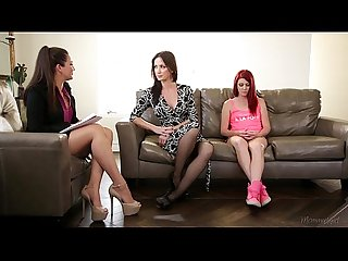 The family therapist elle alexandra allie haze angela sommers