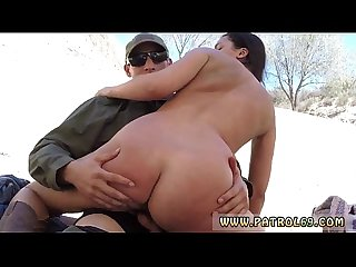 Kissing bbc blowjob and amateur brunette milf riding Mexican border