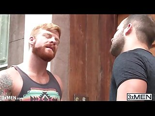 Redhead horny dude bennett anthony finds luke Adam for a great gay fucked