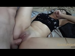 Sukisukigirl creampie and pov throatfuck