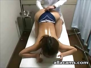 Superb tall asian girl amazing massage on allacams com