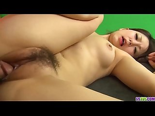 Miku airi gets jizz to heal her demolished pussy more at 69avs com