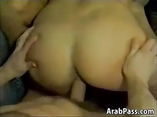 Arab Beauty Wanting Two Erect Cocks