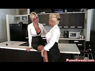 Euro babe puma swede fucks the office slut bobbi eden