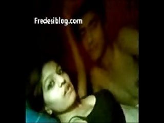 Young Punjabi lovers enjoy in bed