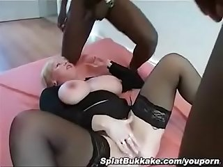 PornDevil13... Gangbang Vol.4 UK milf donna vs bbcs
