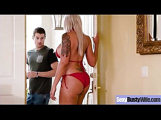 Banging On Camera A Naughty Busty Gorgeous Housewife (Nina Elle) mov-21