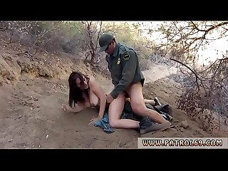 Dominant brunette cop and arrested fuck by Kayla West was caught
