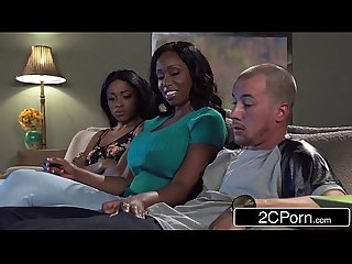 Big Tit Ebony MILF Codi Bryant Attempts To Steal Young Anya Ivy's Boyfriend