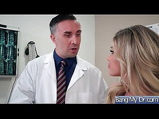 Sex Adventures On Tape Between Doctor And Patient (Jessa Rhodes) video-17