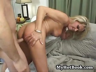 Bridgette lee has a large and bountiful set of bre