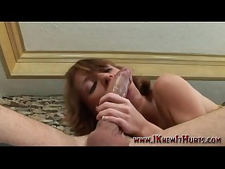 Oversexed small tit milf deep throathing
