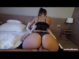 Awesome fucking with prostitute on hotel without condom more on amateur4u com