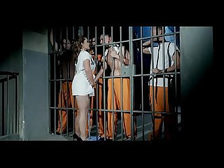 Police woman have very hard threesome in prison ---- 2� part free here..