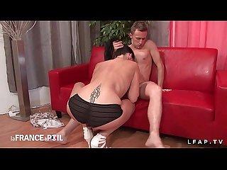 Casting anal d une milf francaise amateur sublime defoncee fistee et godee
