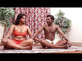 Hot Indian girl teaching yoga more on 900cams net