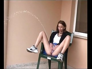sexy kinky skinny teen outdoor power piss 3 ...more on girlsvideo.org