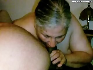 Granny Lynne Gets Face Fucked and a Mouthful of Cum