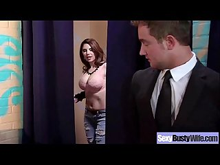 Busty Milf Wife (darling danika) Bang Hardcore In Front Of Camera movie-08