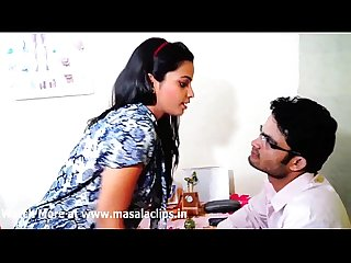 School tution teacher enjoying cute girl at home video